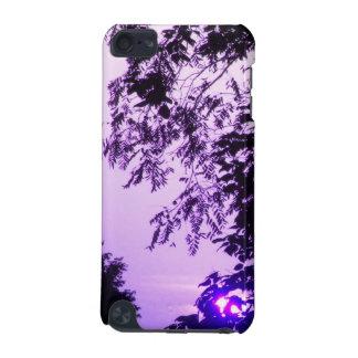 Sunrise in Purple iPod Touch case