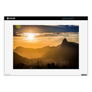 Sunrise in Rio de Janeiro Decal For Laptop