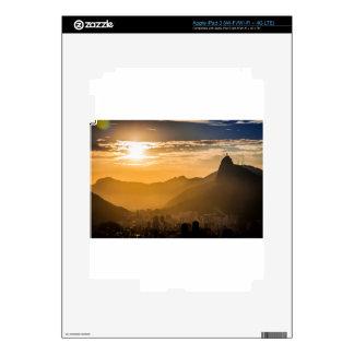 Sunrise in Rio de Janeiro iPad 3 Skin