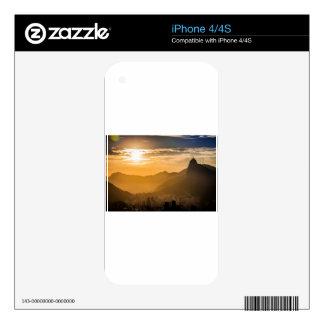 Sunrise in Rio de Janeiro iPhone 4S Skins