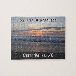 Sunrise in Rodanthe Outer Banks NC Jigsaw Puzzle
