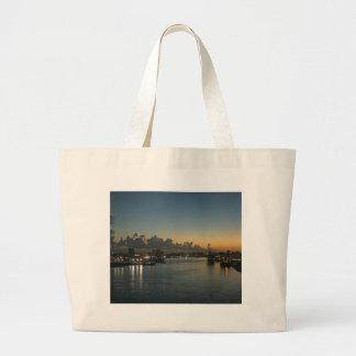 Sunrise in San Juan Tote Bags
