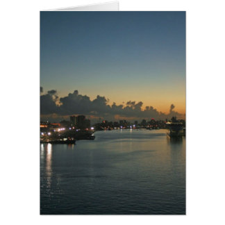 Sunrise in San Juan Greeting Card