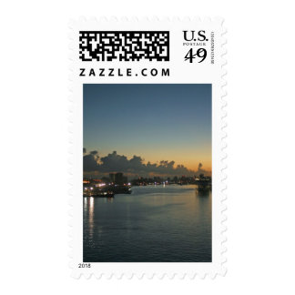 Sunrise in San Juan Stamps