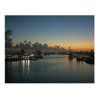 Sunrise in San Juan Postcard