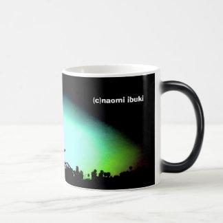 sunrise in santa monica magic mug