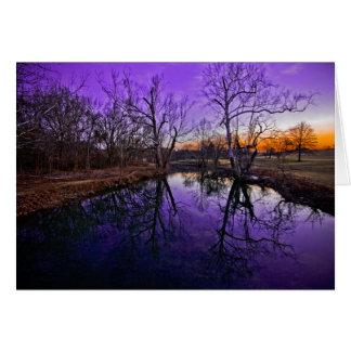 Sunrise in Seneca Park Card