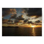 Sunrise in St. Thomas I US Virgin Islands Card