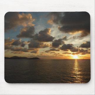 Sunrise in St. Thomas I US Virgin Islands Mouse Pad