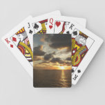 Sunrise in St. Thomas I US Virgin Islands Playing Cards