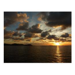 Sunrise in St. Thomas I US Virgin Islands Postcard