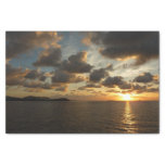 Sunrise in St. Thomas I US Virgin Islands Tissue Paper