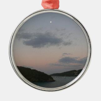 Sunrise in St. Thomas III US Virgin Islands Metal Ornament