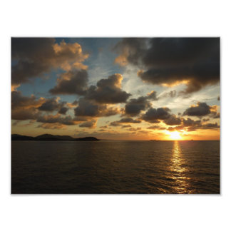 Sunrise in St Thomas Photo Print