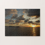Sunrise in St.Thomas V Stunning Seascape Puzzle