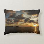 Sunrise in St. Thomas V US Virgin Islands Decorative Pillow