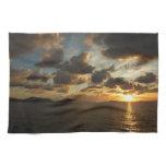 Sunrise in St. Thomas V US Virgin Islands Hand Towels