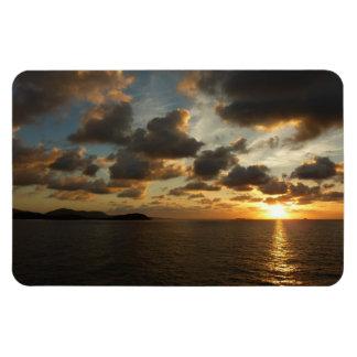Sunrise in St. Thomas V US Virgin Islands Rectangular Photo Magnet