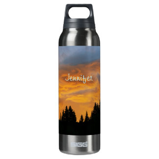 Sunrise in the Bear River Range 16 Oz Insulated SIGG Thermos Water Bottle