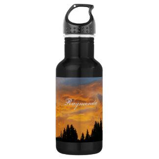 Sunrise in the Bear River Range Water Bottle