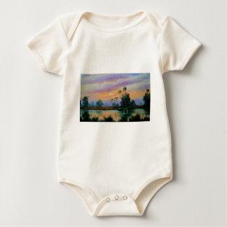 Sunrise in the Everglades Baby Bodysuit
