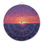 Sunrise In The Med Dartboard