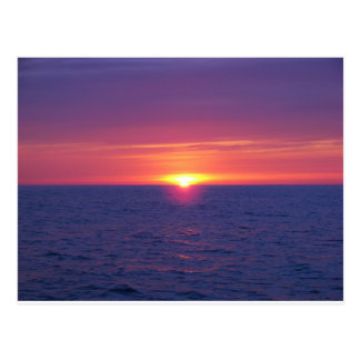 Sunrise In The Med Postcard
