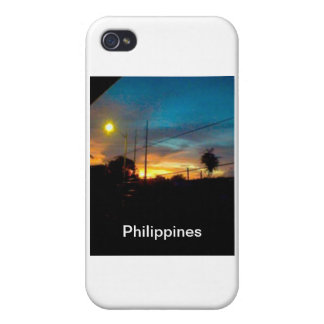 sunrise in the Philippines Cover For iPhone 4