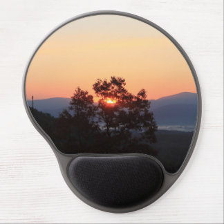 Sunrise in the valley Gel Mouse Pad