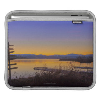 Sunrise in winter in Seattle 2 Sleeves For iPads