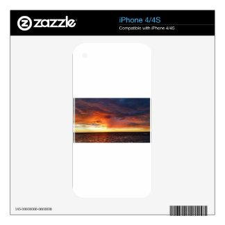 Sunrise iPhone 4S Decals
