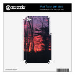 Sunrise iPod Touch 4G Skins