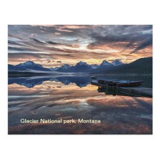 Sunrise Lake Mcdonald Postcard