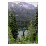 Sunrise Lake, Mount Rainier Stationery Note Card