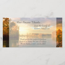 Sunrise Lake Sympathy Thank You