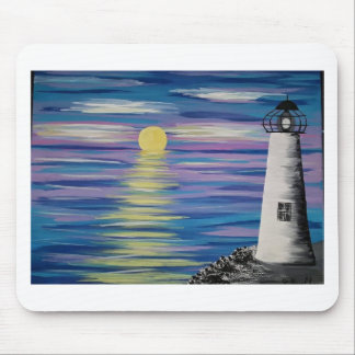 Sunrise Lighthouse Mouse Pad
