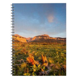 Sunrise Lights Blackleaf Canyon 2 Note Books