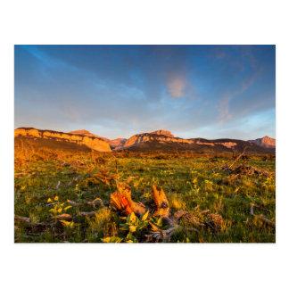 Sunrise Lights Blackleaf Canyon 2 Postcard