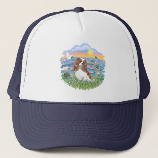 Sunrise Lilies - Blenheim Cavalier Trucker Hat