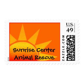 Sunrise Logo only Stamp