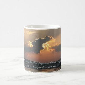 """Sunrise """"Luke 6:23"""" Coffee Mug"""