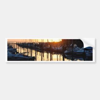 Sunrise Marina Bumper Sticker