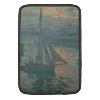 Sunrise (Marine) by Claude Monet MacBook Air Sleeve