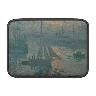 Sunrise (Marine) by Claude Monet MacBook Sleeve