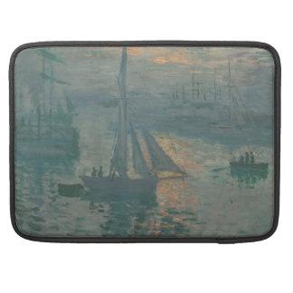 Sunrise (Marine) by Claude Monet Sleeve For MacBook Pro