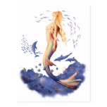 Sunrise Mermaid by Scot Howden Postcard