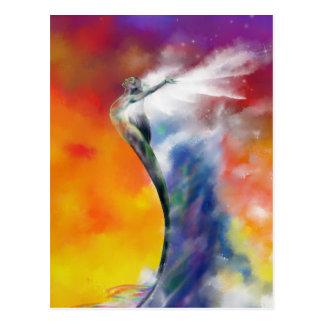 Sunrise Mermaid (closeup) postcard