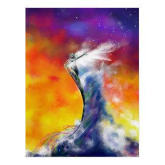 Sunrise Mermaid postcard