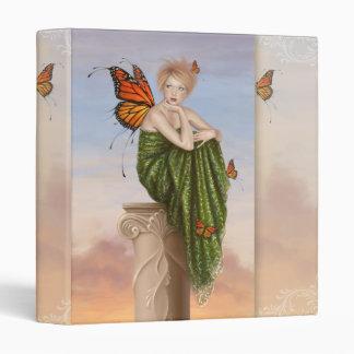 Sunrise Monarch Butterfly Fairy Binder