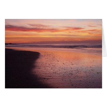 Beach Themed Sunrise Morning Card